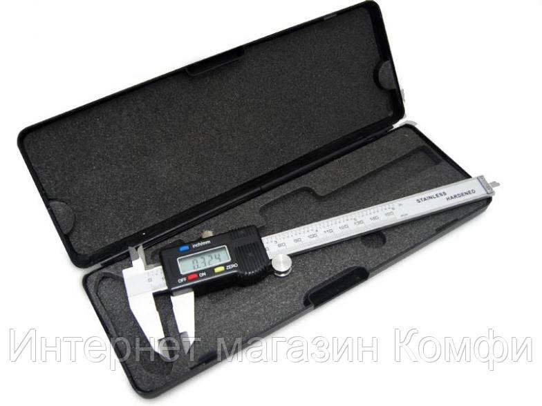 🔥✅ Электронный штангенциркуль Digital Caliper с LCD микрометр в кейсе цифровой штанген циркуль