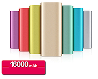 🔥✅ Аккумулятор зарядное Xiaomi MI Power Bank 16000 mAh Gold, Silver, Black