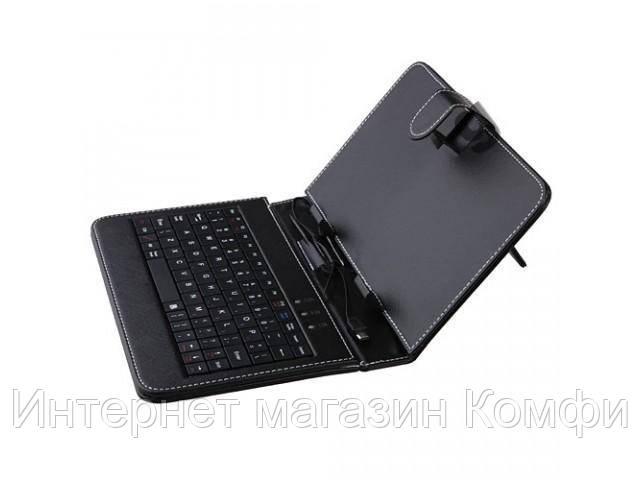 """🔥✅ Чехол клавиатура для ПК планшета 10"""" usb, micro, mini usb"""