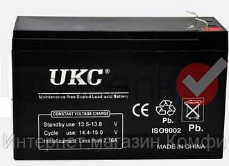 🔥✅ Аккумулятор UKC 12V 12Ah WST-12