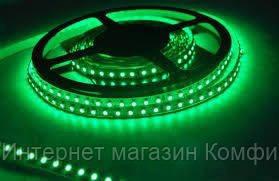 🔥✅ Светодиодная LED лента 3528 Зеленая 60RW 12V