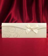 Оригинальные свадебные приглашения с конвертом заказать