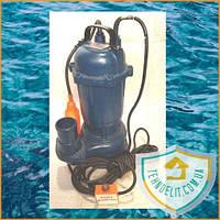 Фекальный насос WETRON WQD12-10-1,1. Дренажный насос. Насос для откачки. Насос для канализации.