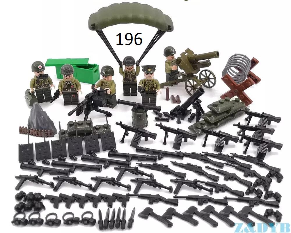 Фигурки британских военнослужащих swat солдаты лего Lego BrickArms