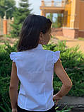 Детская блуза,ткань хебе рубашка,размеры:122,128,134,140., фото 5