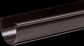 Жолоб Fitt 125 мм., 3000 мм. коричневий