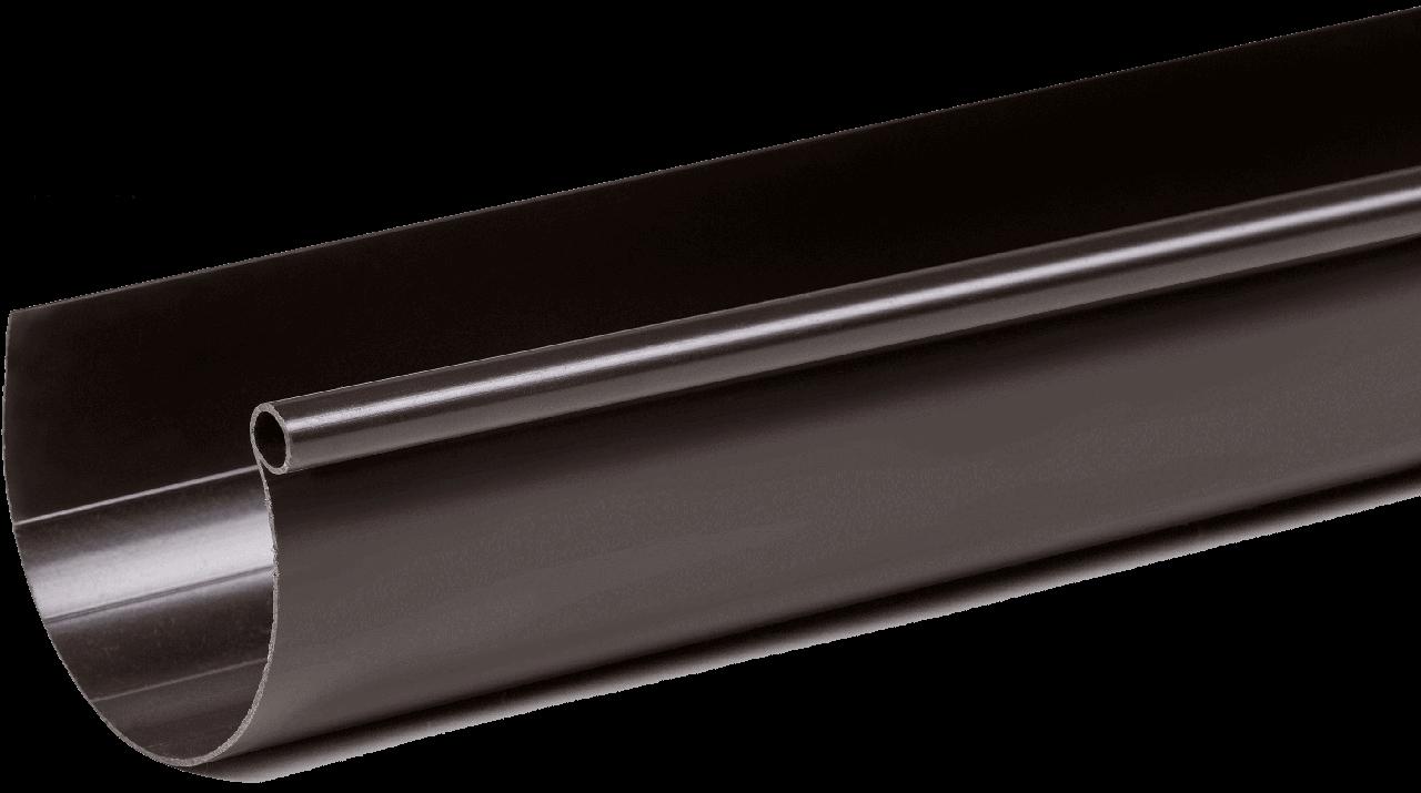 Желоб Fitt 125 мм., 3000 мм.  коричневый