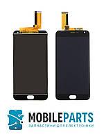 Дисплей для Meizu M2 Note с сенсорным стеклом (Черный) Оригинал Китай