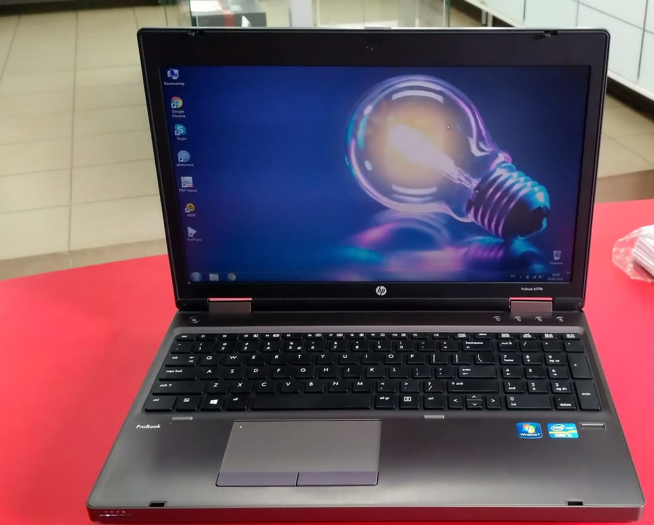 "Ноутбук HP ProBook 6570b 15.6"" Intel Core i5 2.6 GHz 4 GB RAM 256 GB SSD Silver Б/У"