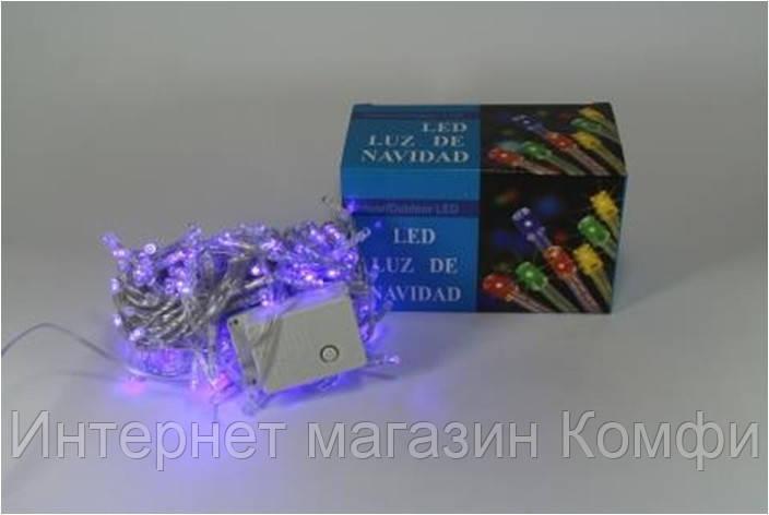 🔥✅ Новогодняя светодиодная гирлянда LED 200 B ( 200 светодиодов ) Цвет синий