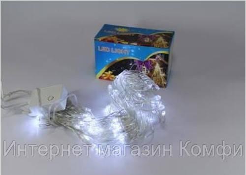 🔥✅ Новогодняя светодиодная гирлянда 120P ICICLE W Сосулька ( 120 светодиодов ) Цвет белый