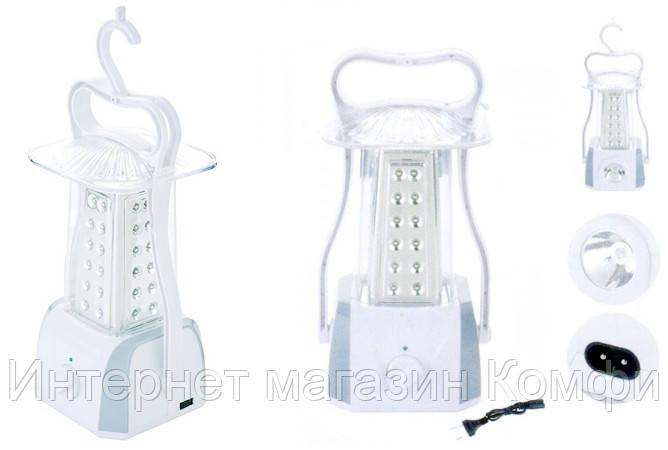 🔥✅ Фонарь лампа для кемпинга YJ - 5831 фонарик аккумуляторный светодиодный