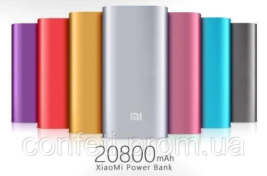 🔥✅ Аккумулятор зарядное Xiaomi MI Power Bank 20800 mAh, портативная зарядка для телефона, Gold, Silver, Black