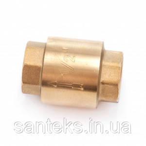 Клапан зворотний діаметр 20 латунь