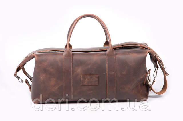 дорожная кожаная сумка мужская