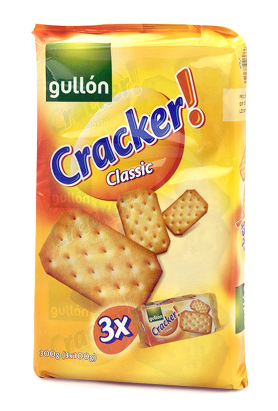 Печиво GULLON крекер cracker classic, 300г, (8шт)
