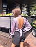 Классические элегантные шорты «Асти»,  костюмка в полоску. Размер:S, M. Разные цвета (1040), фото 3