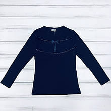 Детская одежда оптом Школьная Блуза для девочек нарядная р.9 лет