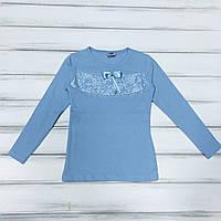 Школьная Блуза для девочек нарядная р.8 лет