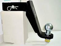 Вставка под квадрат 50х50 мм - заниженная 115 мм (американская вставка) - Auto-Hak