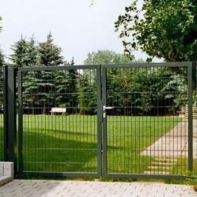 Ворота распашные 1.26х5м, фото 1