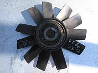 Крыльчатка охлаждения с вискомуфтой в сборе на VW LT 46 2.5 TDI год 1999-2006