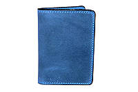 Обкладинка для ID карток, посвідчення водія, тех паспорта синя