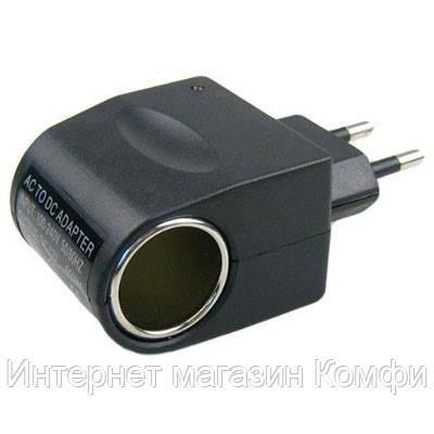 🔥✅ Адаптер c 12v на 220v Car charge switch переходник сеть - прикуриватель
