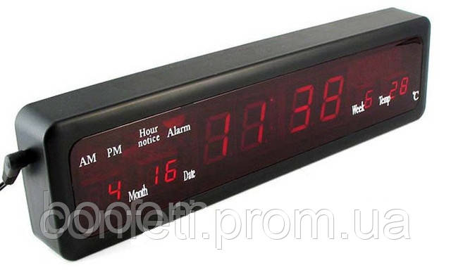 🔥✅ Настольные Электронные Часы Led Clock CX 808