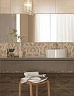 Плитка для стен Travertine Mosaic коричневый декор 250x400x8 мм, фото 3