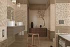 Плитка для стен Travertine Mosaic коричневый декор 250x400x8 мм, фото 4