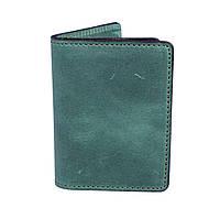 Обкладинка для ID карток, посвідчення водія, тех паспорта зелена