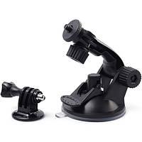 Автомобильный держатель присосока для фотоаппаратов, камер и GoPro V1