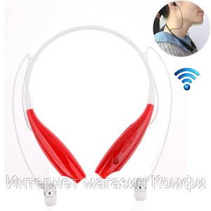 🔥✅ Беспроводные Bluetooth наушники Sport TM-730 Red