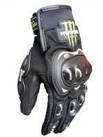 Мотоперчатки полнопалые PRO BIKER черные размер L