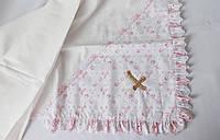 Крыжма для крещения ( бязь белая 75 х 110 )
