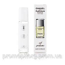Масляные духи Egoiste Platinum Chanel (Шанель Эгоист Платинум) 10 мл (реплика)