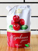 Джем плодово-ягодный Клюква Emmi, 250 г, фото 1