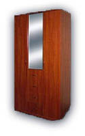 Шкаф комбинированный 3-х дверный ШК-3с