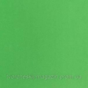 Фоамиран 0,8мм 50 х 50 см зеленый - зеленое яблоко
