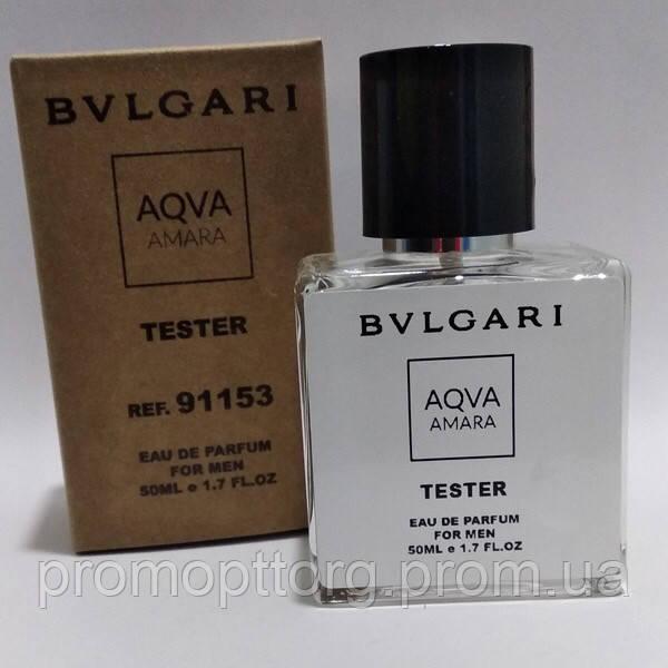Мужская туалетная вода Bvlgari Aqua Amara pour homme в тестере 50 мл (реплика)