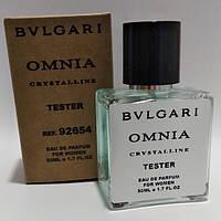 Bvlgari Omnia Crystalline женский парфюм тестер 50 ml (реплика)