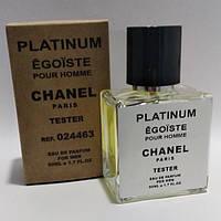 Chanel Egoiste Platinum мужской парфюм тестер 50 ml (реплика)