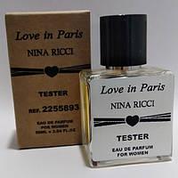 Женская парфюмированная вода Nina Ricci Love In Paris в тестере 50 мл (реплика)