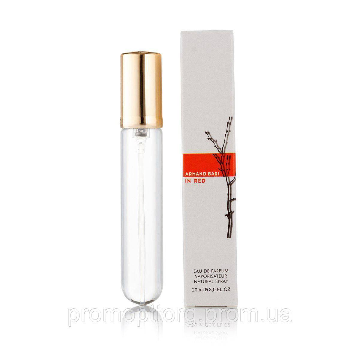 Мини парфюмерия женская Armand Basi In Red 20 ml (реплика)