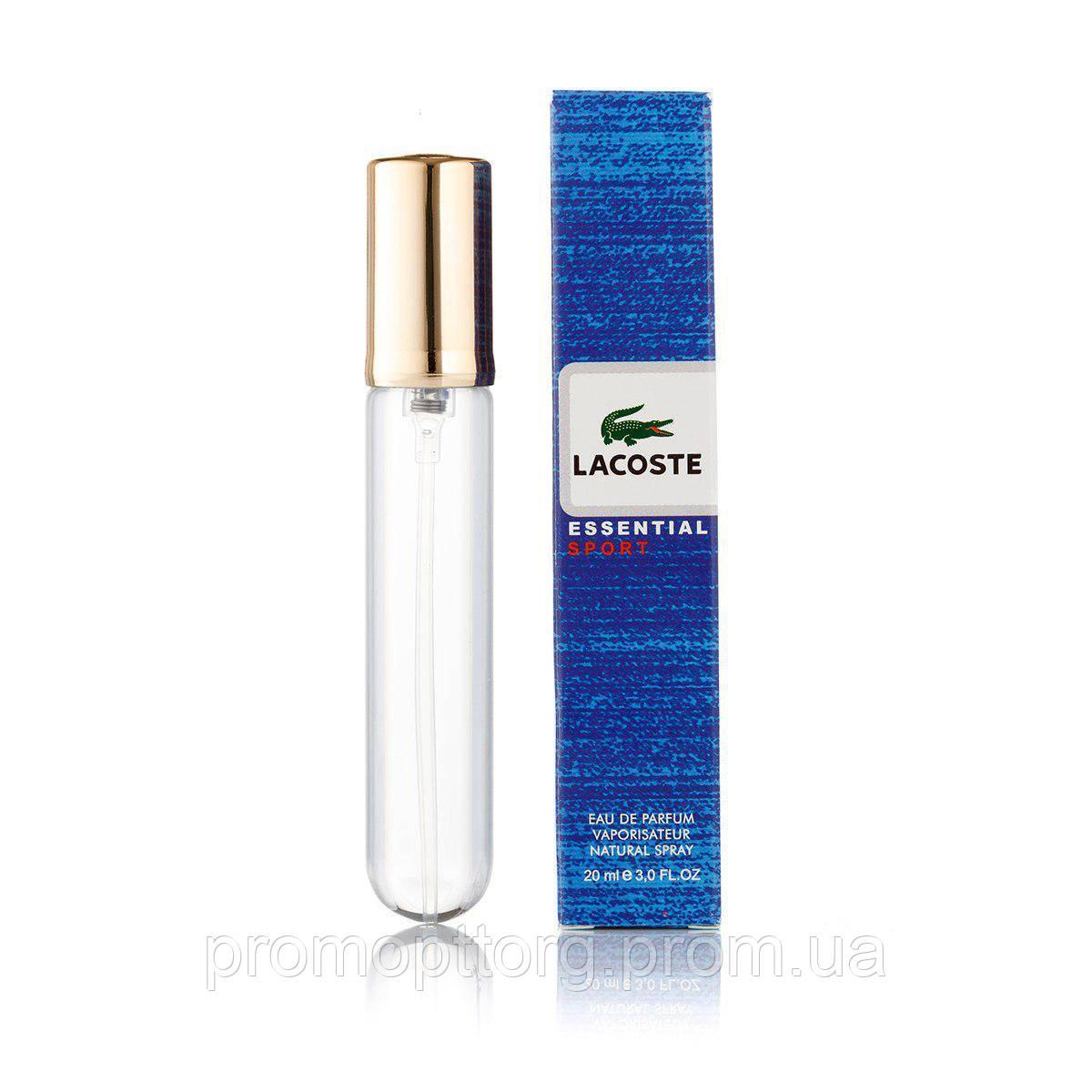 Мужской мини парфюм Lacoste Essential Sport 20 ml  (реплика)