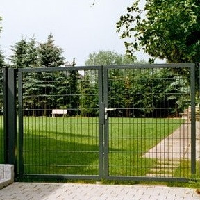 Ворота распашные 1.7х4м