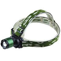 🔥✅ Профессиональный велосипедный налобный светодиодный фонарь Bailong Police BL-6808 с креплением