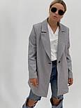 """Женский стильный пиджак (блейзер) свободного кроя в стиле """"с мужского плеча"""" (в расцветках), фото 7"""