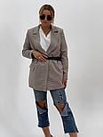 """Женский стильный пиджак (блейзер) свободного кроя в стиле """"с мужского плеча"""" (в расцветках), фото 6"""